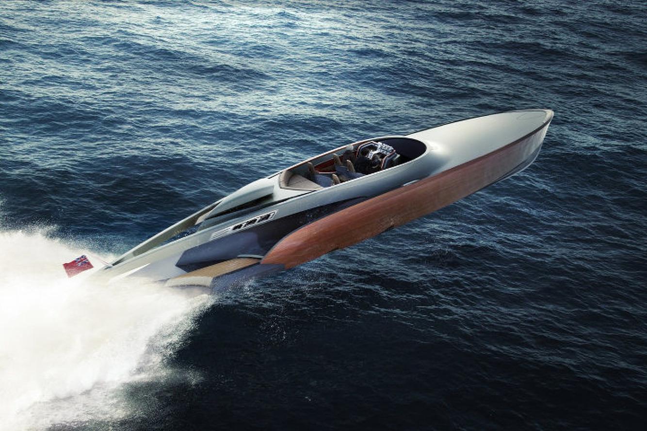 Luxury Powerboat Will Use Legendary Rolls-Royce Merlin Engine
