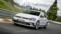 La Golf GTI Clubsport S bat son propre record sur le Nürb'!