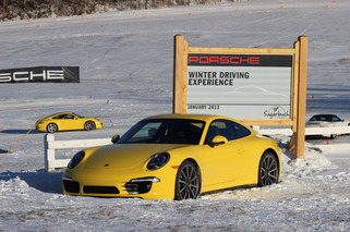 Experiencing Winter Driving with Porsche