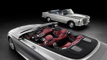 Mercedes S-Class Cabrio teased for Frankfurt
