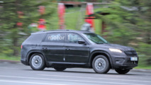 Skoda Kodiaq makes spy photo debut