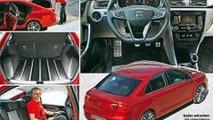 New Seat Toledo concept leaked