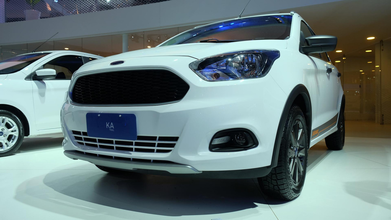 Salão do Automóvel: Sem novo EcoSport, Ford vai de Ka Trail