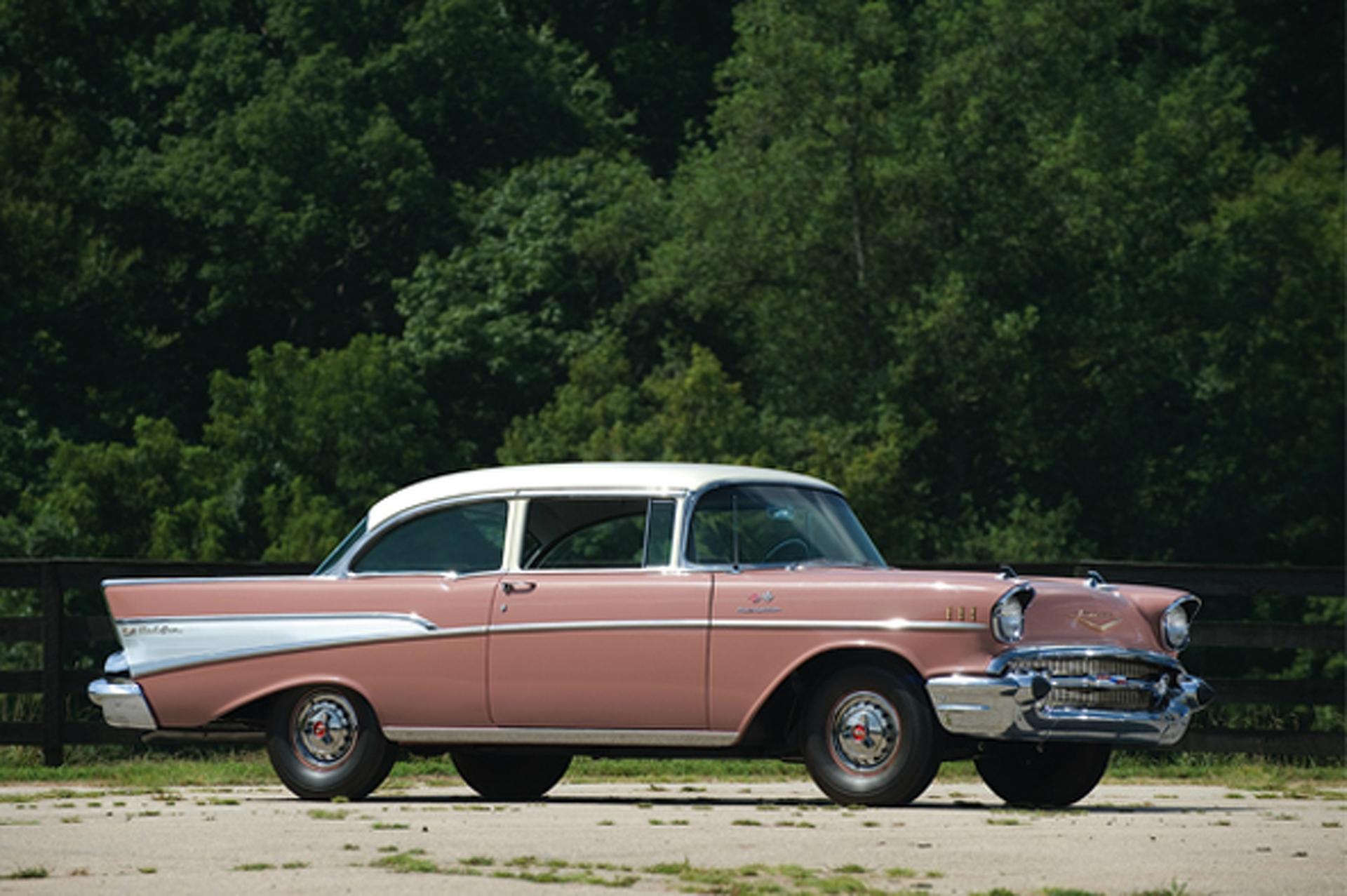 Bold School: 1957 Chevrolet Bel Air