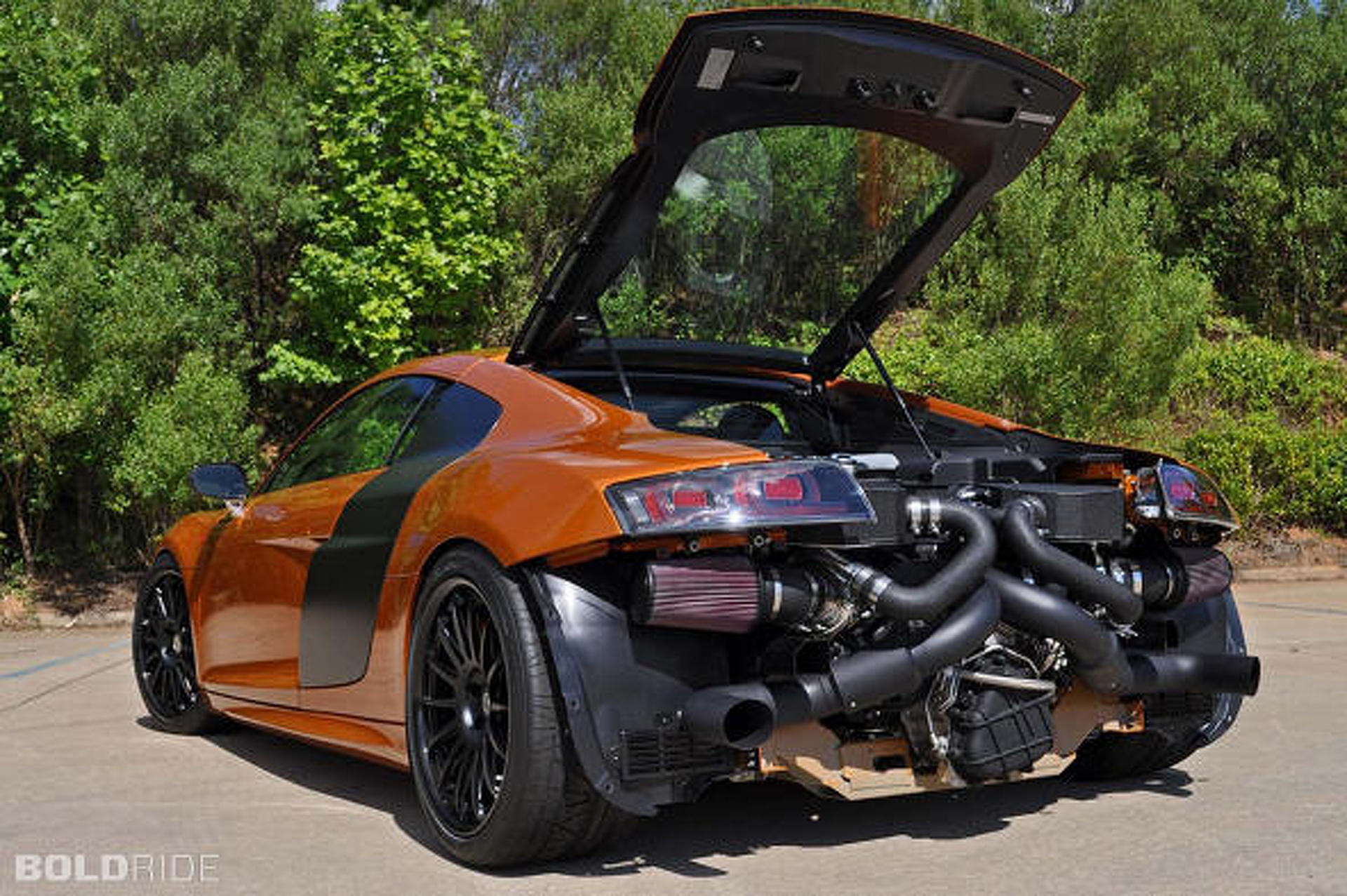 Audi R8 Gt Tuned By Underground Racing To 1 000hp