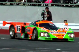 Video: Witness the Wrath of the Mazda 787B