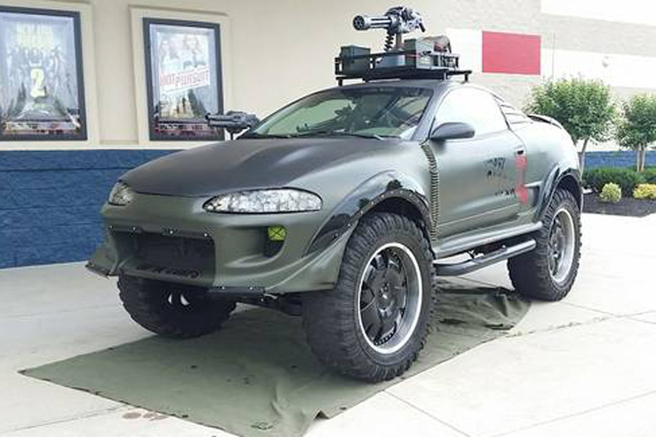 Zombie Problems? This Craigslist Mitsubishi 4x4 is the Answer