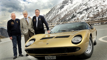 Lamborghini Miura's 50th anniversary celebrated