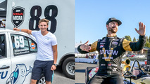 Canadians Hinchcliffe and Rzadzinski team up for Race of Champions