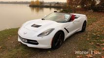 Corvette Stingray avant gauche cabrio
