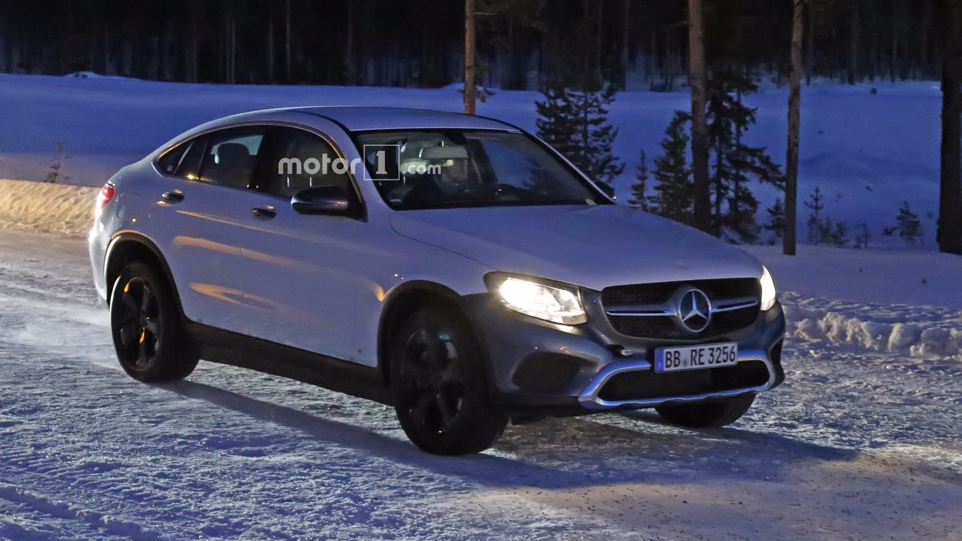 mercedes eq electric crossover spied disguised as a glc coupe. Black Bedroom Furniture Sets. Home Design Ideas