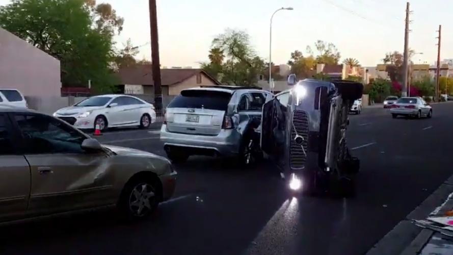 Uber's Autonomous Car Crashes, Self-Driving Program Halted