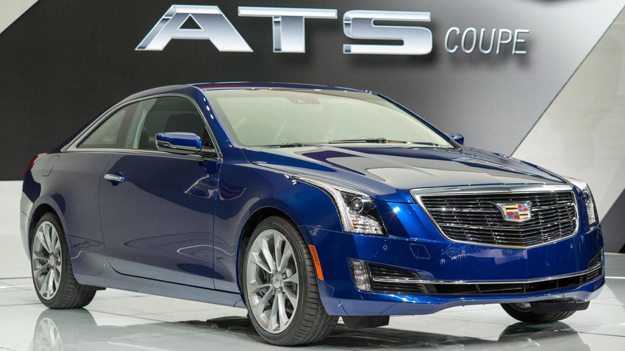 2015 Cadillac ATS Coupe classes up the Motor City as the company explains the wreathless crest