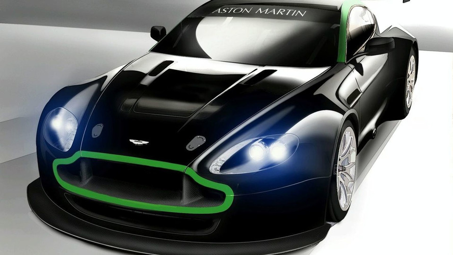 Aston Martin Racing Reveals Vantage GT2 Illustration