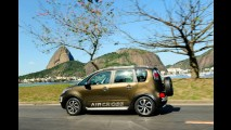 Citroën divulga novas imagens do AirCross no Rio de Janeiro