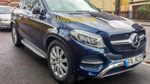 Mercedes GLE Coupe photographed in production trim