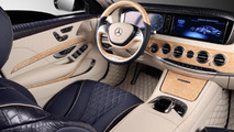 Mercedes-Benz S-Guard W222 gets crocodile leather from TopCar