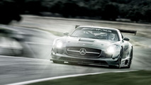 Mercedes SLS AMG GT3 45th Anniversary Edition 22.10.2012