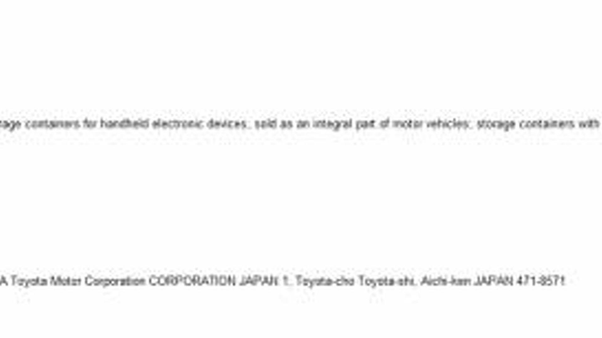 Toyota planning digital dashboards and inductive phone chargers?