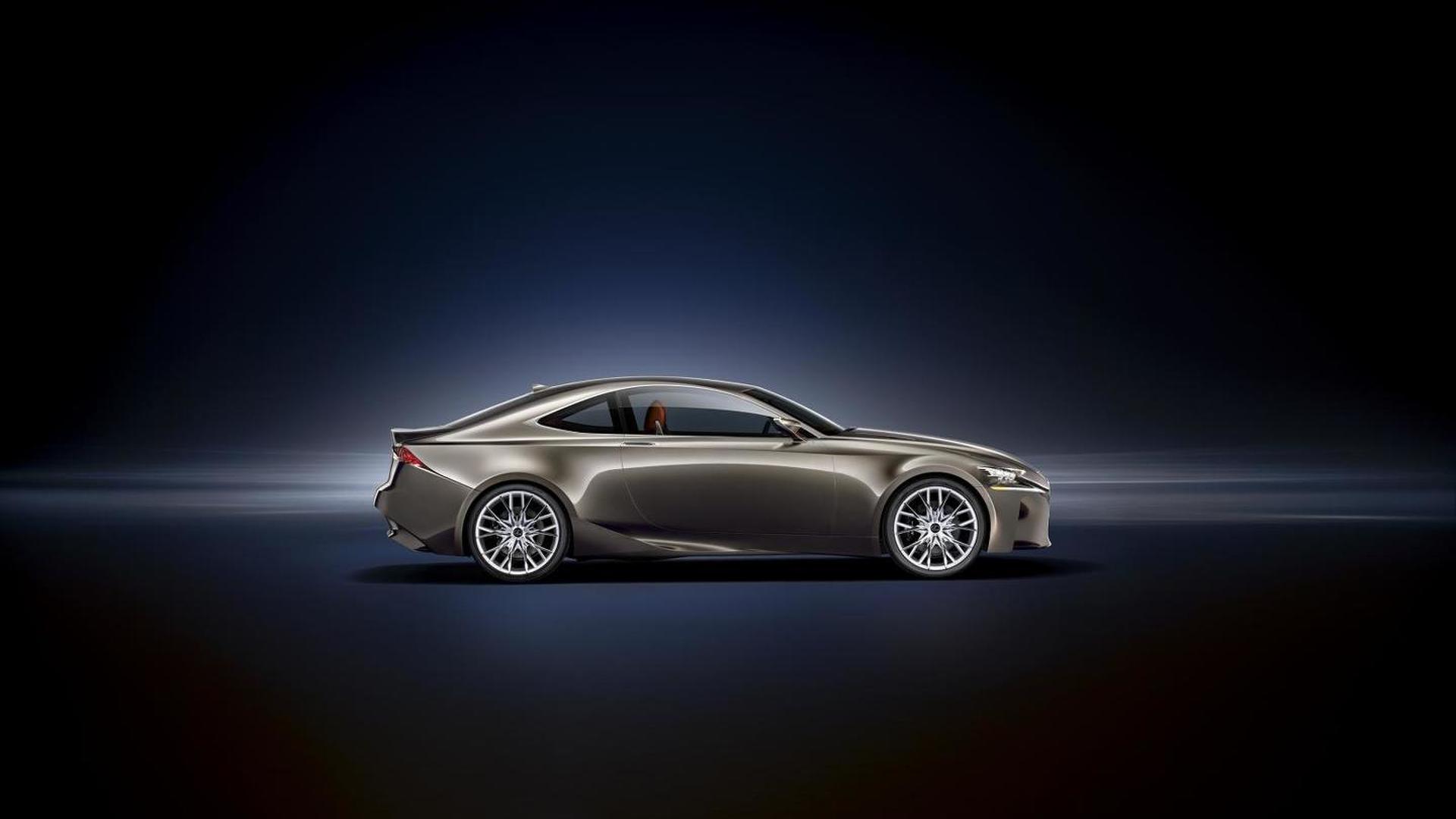 Lexus LF-CC video released