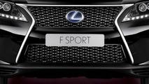 2013 Lexus RX 450h F Sport  leaked press image