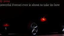 2013 Ferrari 620 GT teaser #3 released [video]