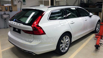 Volvo V90 spy photo