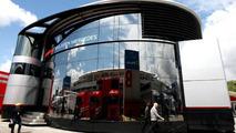Mclaren Hospitality motorhome, Spanish Grand Prix, 06.05.2010 Barcelona, Spain