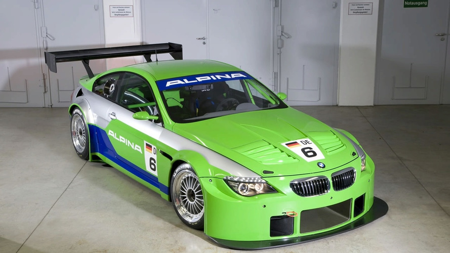 BMW Alpina B6 GT3 Revealed Ahead of Geneva Debut