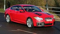 Jaguar XFR Spy Photo
