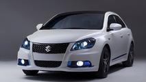 Suzuki debuts Kizashi Apex and EcoCharge concepts in New York