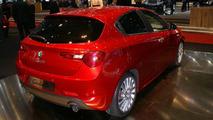 Alfa Romeo Giulietta Quadrifoglio Verde live in Geneva 03.03.2010
