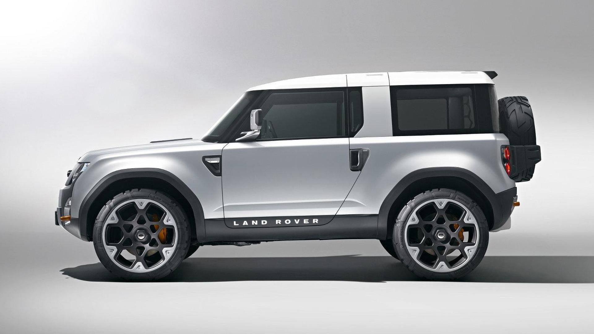 Land Rover Defender Concept revealed
