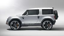 Land Rover Defender Concept revealed