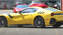 Ferrari F12 Speciale photographed without any camouflage