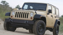 Jeep J8 multipurpose vehicle based on 2007 Jeep Wrangler Unlimited