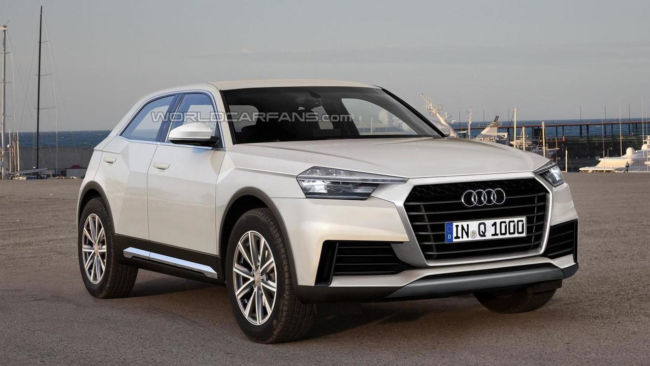 2016 Audi Q1 rendering