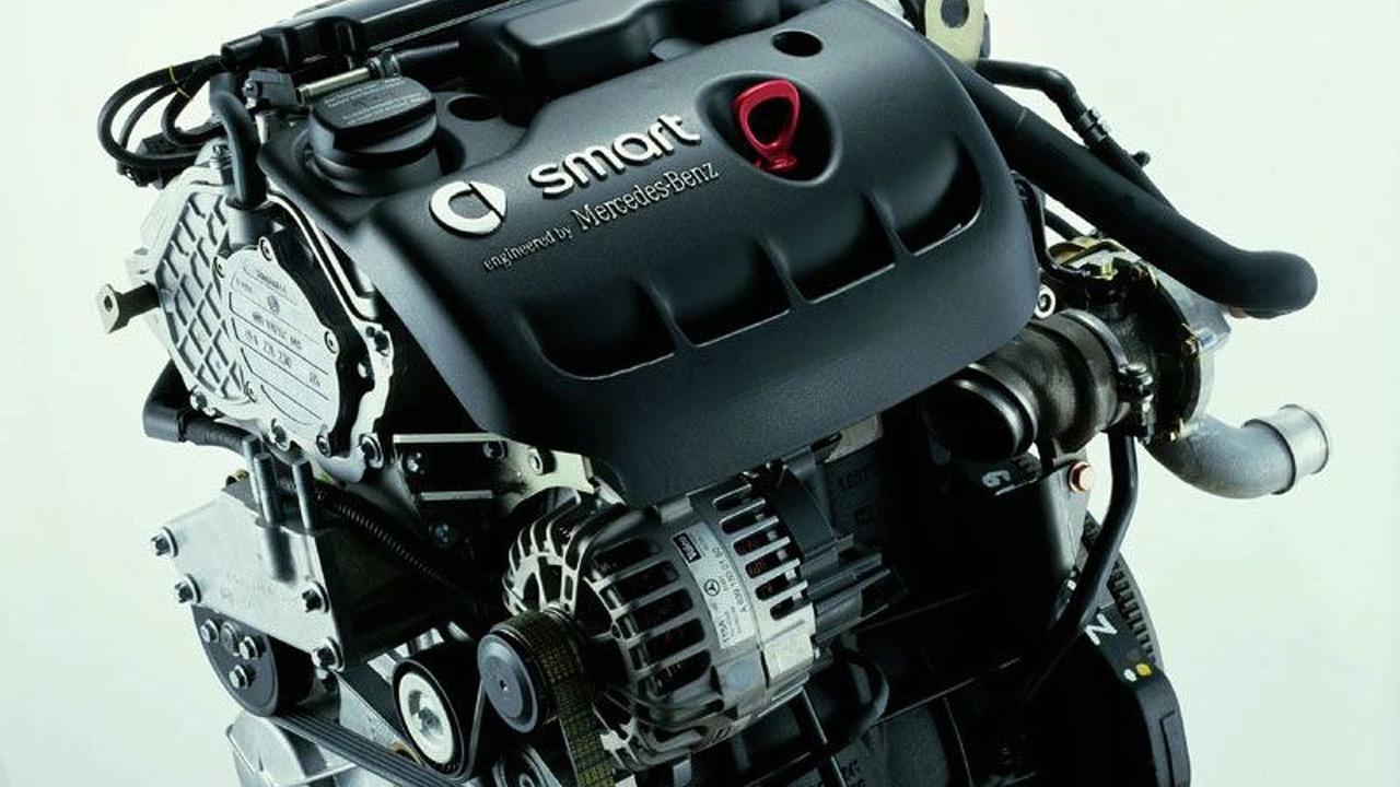 smart 1.5 liter 3 cylinder diesel engine