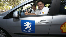 Record breaking Peugeot and drivers