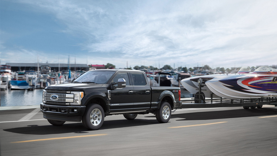 Ford Super Duty's 48-gallon fuel tank is bigger than all these things