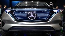 Mercedes Generation EQ concept live at 2016 Paris Motor Show