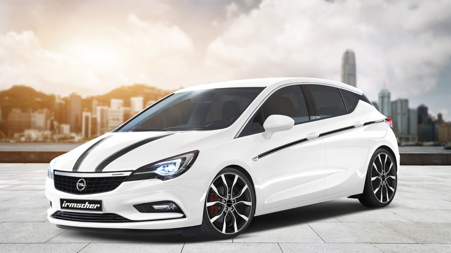 Irmscher previews their tuning program for the 2016 Opel Astra