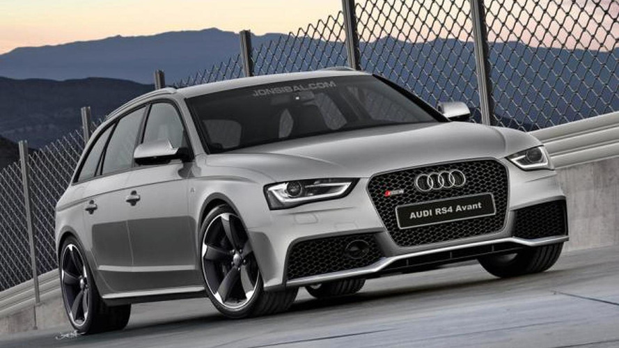 2013 Audi RS4 Avant rendered