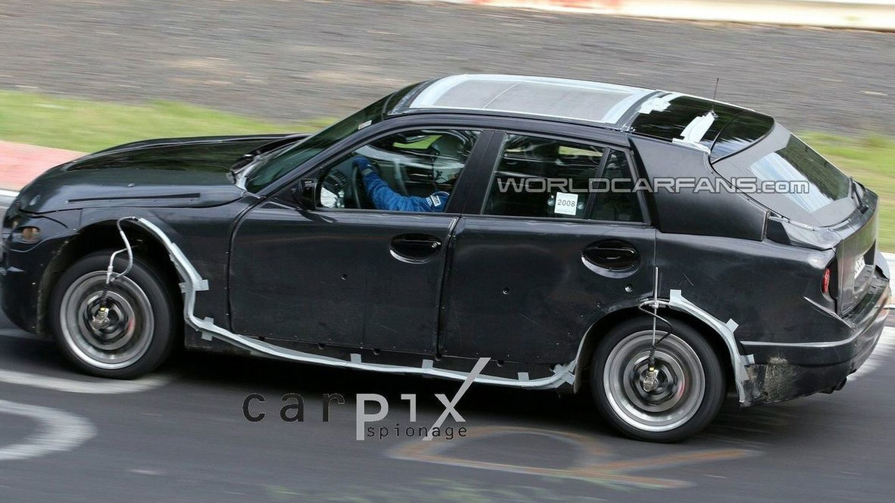 BMW X1 Spied with the Door Open