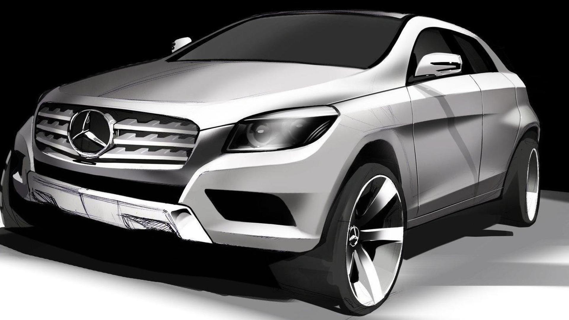 Mercedes benz to build mlc class suv at alabama plant report for Mercedes benz in huntsville al