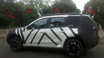 2013 Nissan Terrano spied for the first time