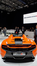 McLaren 650S Spider debut in Geneva