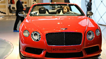 Bentley Continental GT V8 S Coupe live in Frankfurt 09.09.2013