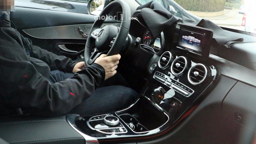 Take a peek inside the 2018 Mercedes C-Class facelift