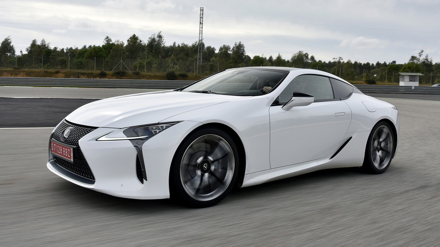 Lexus LC Hybrid is more efficient than a Camry